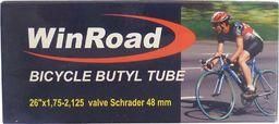 "WINROAD Dętka 26""x1,75-2,125  wentyl Schrader 48 mm box rjx"