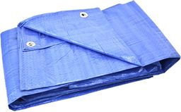 Plandeka GEKO Plandeka 4x6m lekka/niebieska+/-5%(10)
