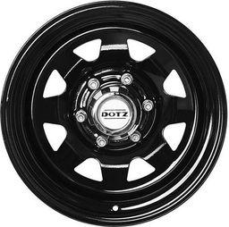 Felga DOTZ 6x15 5x139.7ET0 Dakar Dark Black