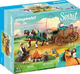 Playmobil Ojciec Jim z bryczką (9477)