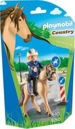 Playmobil Policjant z brygady konnej (9260)