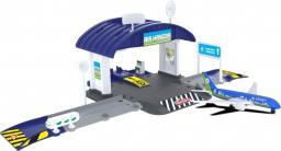 Majorette Creatix Hangar samolotowy + 1 samolot