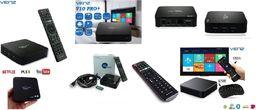 Venz Odtwarzacz Venz V10 PRO+ Smart TV Box z Kodi, 2/16GB, Android 7.1; USB; SD; 4K/3D; HDMI v2.0; Wi-Fi