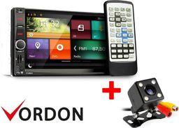 Radio samochodowe Vordon Zestaw radio Vordon HT-869V2 ( micro)  + Kamera cofania 4SMDPL