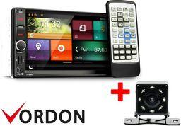 Radio samochodowe Vordon Zestaw radio Vordon HT-869V2 ( micro)  + Kamera cofania 8IRPL