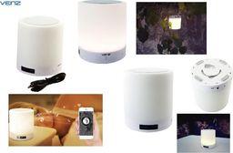 Głośnik Venz Głośnik bezprzewodowy Venz sieciowy Wi-Fi Multiroom z lampką LED
