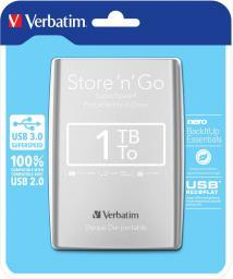 Dysk zewnętrzny Verbatim Store 'n' Go, 1 TB  (53071)