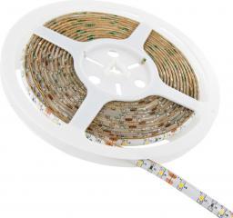 Whitenergy Taśma LED|5m|60szt/m|SMD3528|4.8W/m|12V|wew.|8mm|zimna biała|bez konektora ( 08363 )