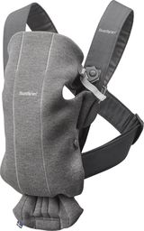 BABYBJORN  BABYBJÖRN - Baby Carrier MINI 3D Jersey, Dark Grey