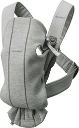 BABYBJORN  BABYBJÖRN - Baby Carrier MINI 3D Jersey, Light Grey