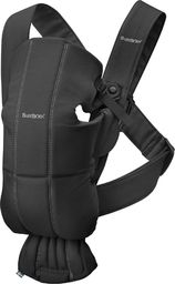 BABYBJORN  BABYBJÖRN - Baby Carrier MINI Cotton, Black