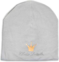 Elodie Details Elodie Details - LOGO Beanie - Marble Grey 24-36m