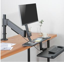"""Maclean Maclean MC-797 Uchwyt na dwa monitory i klawiaturę do 8kg 13""""-32"""""""