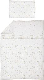 Ceba  Pościel niemowlęca drukowana 2 - elementowa Dream rozproszony biały