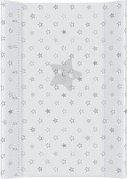 Ceba Ceba Baby, Przewijak miękki profilowany Gwiazdki szare, 50 x 70 cm