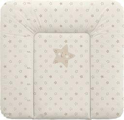Ceba Ceba Baby, Przewijak miękki Gwiazdki beżowe, 75 x 72 cm
