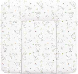 Ceba Ceba Baby, Przewijak miękki Dream biały rozproszony, 75 x 72 cm