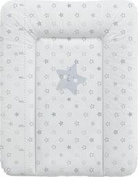 Ceba Ceba Baby, Przewijak miękki Gwiazdki szare, 50 x 70 cm
