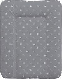 Ceba Przewijak miękki Gwiazdki ciemnoszare 50x70 cm