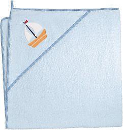 Ceba Ceba Baby, Ręcznik dla niemowlaka Marynarski niebieski, 100 x 100 cm
