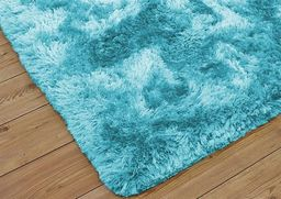 Dywan - Living Room Shaggy 120x160 - Light Blue