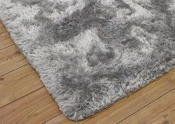 Dywan - Living Room Shaggy 120x160 - Light Silver