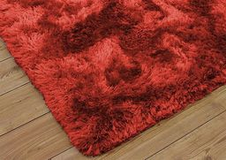Dywan - Living Room Shaggy 120x160 - Red