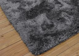 Dywan Living Room Shaggy 120x170, Dark Silver (14595)