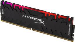 Pamięć HyperX Predator RGB, DDR4, 8 GB,3200MHz, CL16 (HX432C16PB3A/8 )
