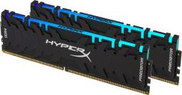Pamięć HyperX Predator RGB, DDR4, 16 GB, 3200MHz, CL16 (HX432C16PB3AK2/16 )