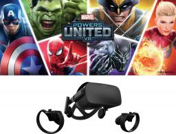 Gogle VR Oculus Oculus Rift VR Headset + Touch-Controller (Paar) - Marvel Special