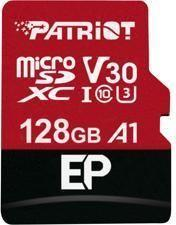 Karta Patriot MicroSDXC EP Series 128GB V30, A1, U3 up to 100MB/s (PEF128GEP31MCX)