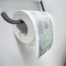 GiftWorld Papier toaletowy 100 zł XL