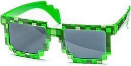 GiftWorld Pikselowe okulary 8 bit pixel - minecraft style