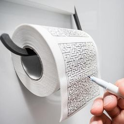 GiftWorld Papier toaletowy labirynt