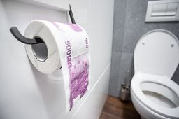GiftWorld Papier toaletowy 500 Euro XL