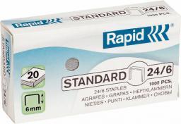 Esselte Zszywki Rapid Standard 24/6, 1000 szt. (24855600)