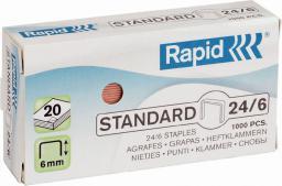 Esselte Zszywki Rapid Standard 26/6, 1000 szt. (24861300)