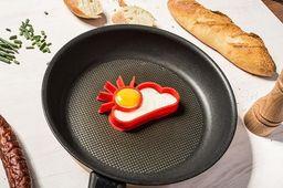 GiftWorld Foremka silikonowa do jajek - Słońce i chmurka