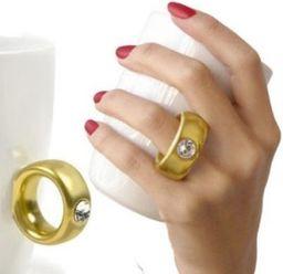 GiftWorld Kubek Dwukaratowy ze złotym pierścieniem 270ml