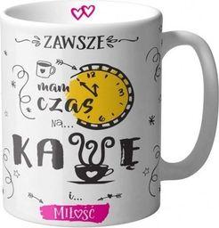 GiftWorld Kubek Czas na kawę i miłość
