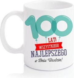 GiftWorld Kubek Baloniki 100 lat! 300ml