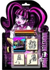 Multiprint PIECZĄTKI SHAPED 3 SZT MONSTER HIGH