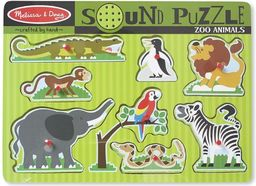 Melissa & Doug Puzzle dźwiękowe - Zoo