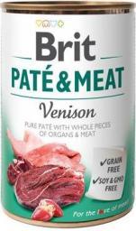 Brit Pate&Meat Venison 400g
