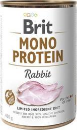 Brit Mono Protein Rabbit puszka 400g