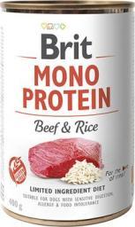 Brit Mono Protein Beef&Rice puszka 400g