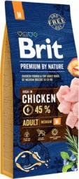 Brit Premium By Nature Adult M Medium 15kg