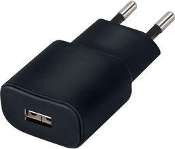 Ładowarka Forever Ładowarka sieciowa Forever USB 1A TC-01 czarna
