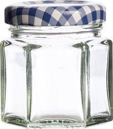 Kilner KILNER  Słoik 0,048 l szcześciokąt, Made In England